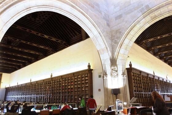 Biblioteca General de la Universidad de Granada, en el Hospital Real.