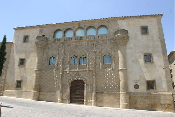 El palacio de Jabalquinto y el Seminario Conciliar son sede y residencia de estudiantes de la UNIA en Baeza.