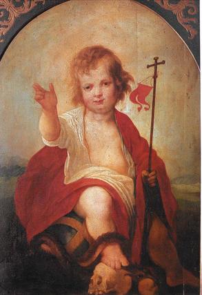 """Niño Jesús de Juan de Roelas (hacia 1604).  Foto: """"Patrimonio Artístico y monumental de las universidades andaluzas"""""""