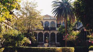 Palacio de las Columnas, sede de la Facultad Traducción e Interpretación de Granada.