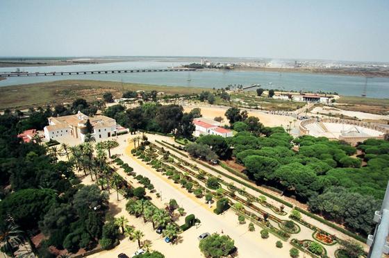 Paraje de La Rábida (Huelva), donde se encuentra una de las sedes históricas de la UNIA.   Foto: ALBERTO DOMÍNGUEZ