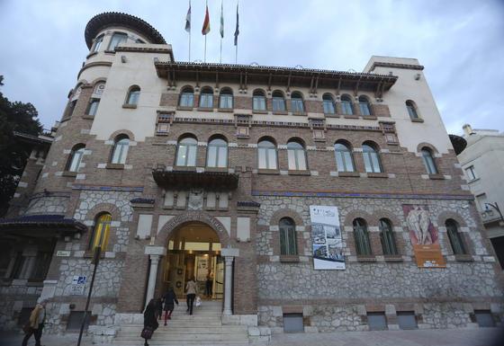 Rectorado de la Universidad de Málaga, construido entre 1916 y 1926.  Foto: JAVIER ALBIÑANA