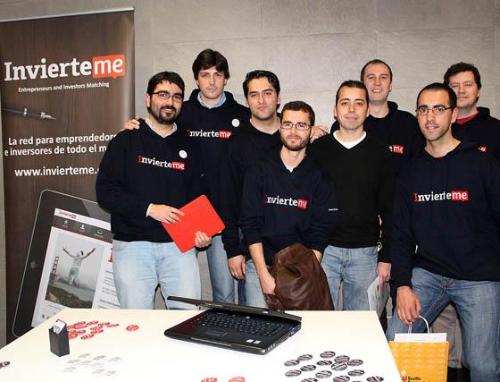 El equipo de InvierteMe.  Foto: Victoria Ramírez