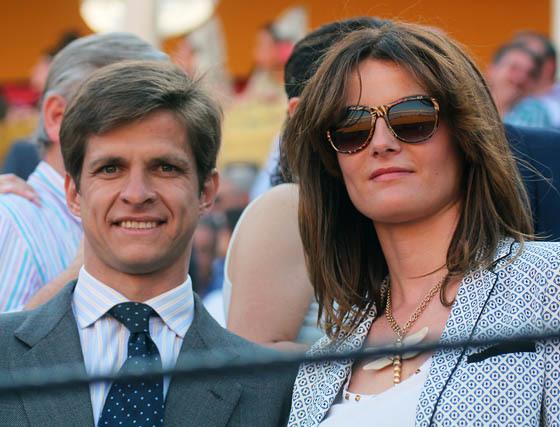 Julián López 'El Juli', con su esposa, Rosario Domecq.  Foto: Victoria Ramírez