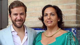 Javier Villa, organizador de 'We Love Flamenco', y Belén Vega, directora de la Pasarela Flamenca de Jerez.  Foto: Victoria Ramírez