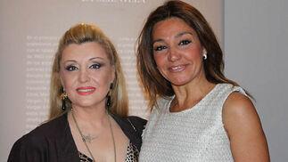 La cantante Patricia Vela y la bailaora Lalo Tejada.  Foto: Victoria Ramírez