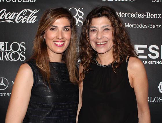 Cayetana Vela con Eva Revuelta (Folli Follie).  Foto: Victoria Ramírez