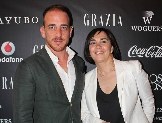 Humberto Misa (FabGuest) y Charo Izquierdo.  Foto: Victoria Ramírez