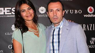 María José Suárez y Jesús María Montes-Fernández (Solo Moda, TVE).  Foto: Victoria Ramírez