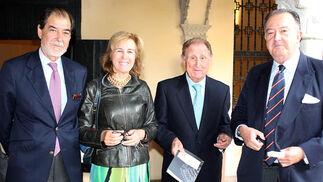 Rafael Ybarra, Laura Cólogan, Adolfo Castillo y José María Ybarra.  Foto: Victoria Ramírez