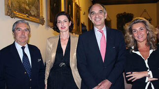 Enrique Moreno de la Cova, Cristina y Marcial Ybarra y Natalia Sevilla.  Foto: Victoria Ramírez