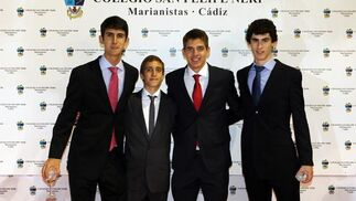 Despedida de los alumnos de bachillerato en el colegio San Felipe Neri