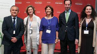 Francisco Mesonero, director general de Fundación Adecco Iberia y América Latina, y Luis Fontán del Junco (Fundación Estudios de la Comunicación).  Foto: Victoria Ramírez