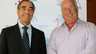 Federico Aguilar, consejero delegado de Consultania, y Javier Gonzalo Ybarra, presidente de Detea.  Foto: Victoria Ramírez