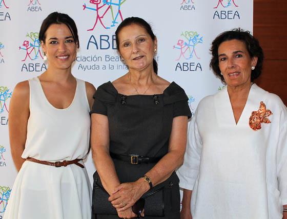 Ana Bono, Michèle Ricard y Pepa Vergara.  Foto: Victoria Ramírez