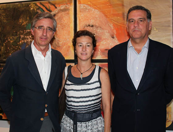 Eugenio Barroso (MP), Teresa Montes (Fundación Konecta) y Jaime Benjumea (Auditores y Consultores del Sur).  Foto: Victoria Ramírez