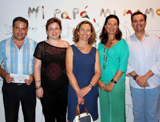 José María Franco y Silvia Pérez (Grupo NCL); Mercedes Molina, Marián Gutiérrez y Rodrigo Siles (Ceade).  Foto: Victoria Ramírez