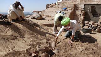 Imágenes de la última campaña del equipo liderado por Alejandro Jiménez en la necrópolis de Qubbet el-Hawa.