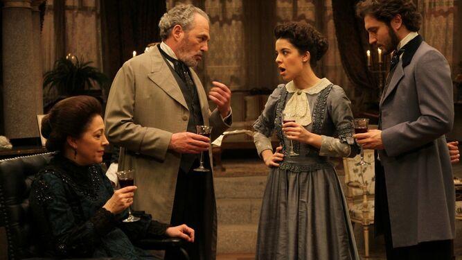 El actor Carlos Olalla en 'El secreto de Puente Viejo'