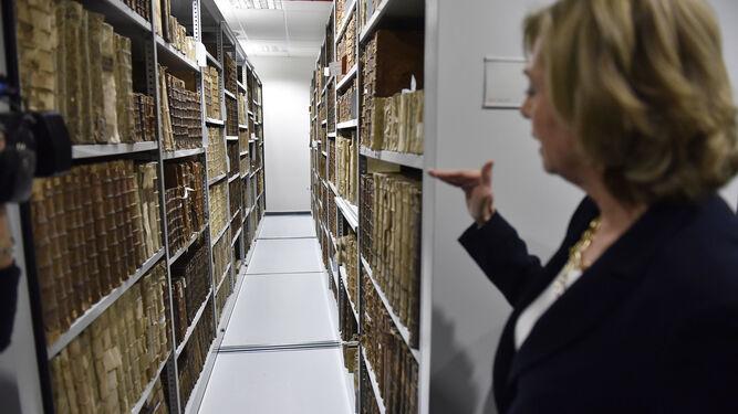 Las nuevas instalaciones. Archivo histórico.