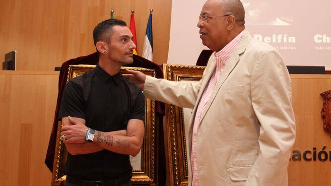 Con Chucho Valdés, fue nombrado Hijo Predilecto de Málaga en 2012.