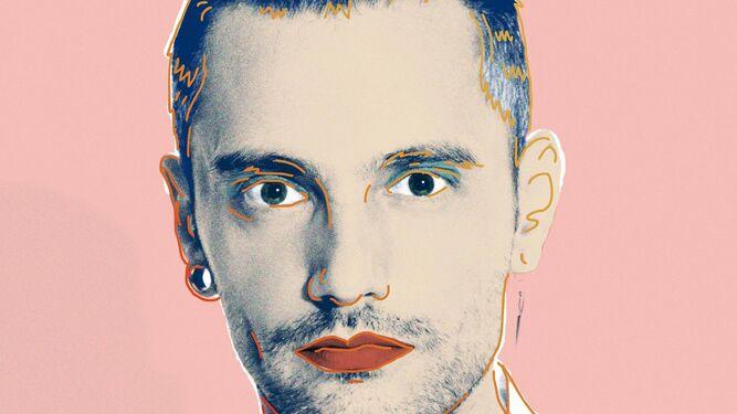 Un autorretrato de David Delfín.