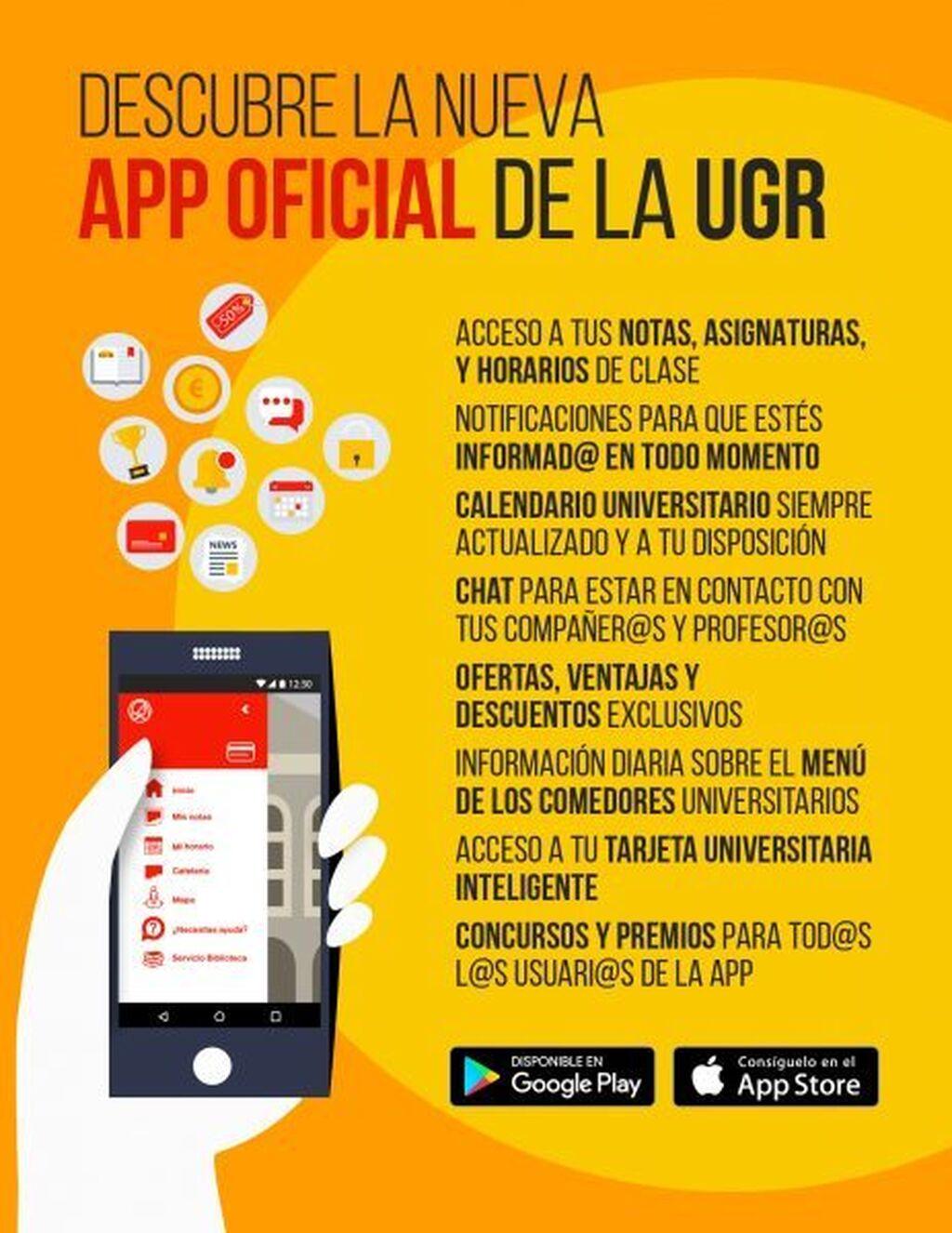 La UGR pone en marcha una \'app\' que conectará a estudiantes y docentes