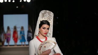 Juan Foronda, las fotos del desfile en We Love Flamenco 2019