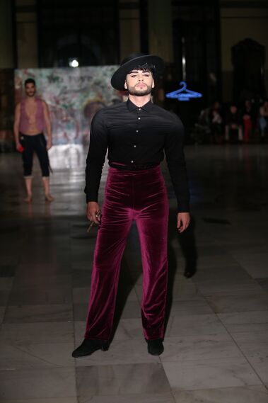 Solís Parras, fotos del desfile en Viva by We Love Flamenco 2019